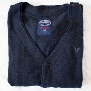 American Eagle Outfitters Sweaters - Trendy Navy Cardigan